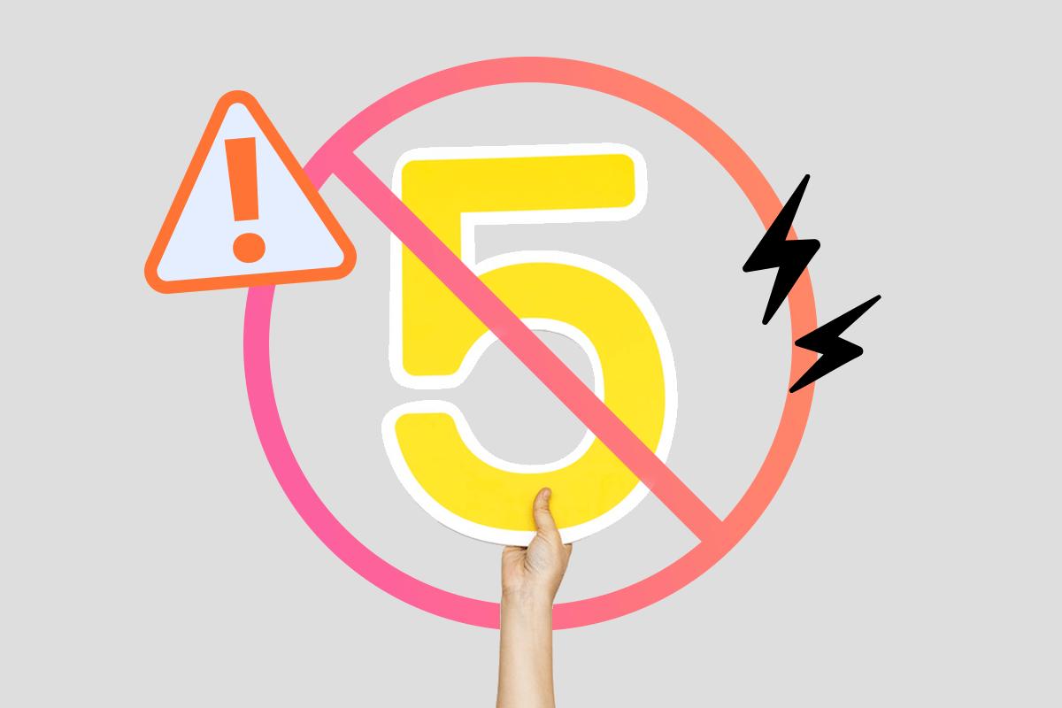 5 erros comuns no e-commerce